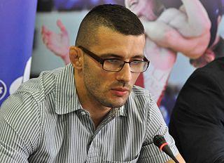 Davor Štefanek Serbian Greco-Roman wrestler