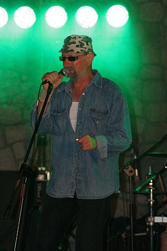 Andrzej Dziubek - Andrzej Dziubek during concert in 2009 in Łeba