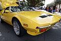 De Tomaso Pantera 1972 yellow RFront LakeMirrorClassic 17Oct09 (14577526386).jpg