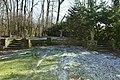 De exedra met terras en tuinvazen aan de oostrand van het park van het 's Gravenhuis te Dilbeek - 371029 - onroerenderfgoed.jpg