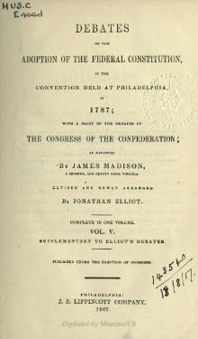 Debates in the Several State Conventions, v5.djvu