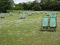 Deckchairs beside Regent's Park Boating Lake - geograph.org.uk - 1298830.jpg