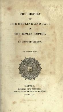 Decline and Fall of the Roman Empire (1827) Vol 1.djvu
