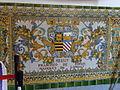 Decoració ceràmica a Capitania General de Barcelona - Francisco de Borja.JPG