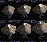 Deep Impact Celestia Simulation 20050704