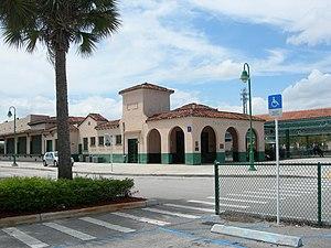 Deerfield Beach station - Image: Deerfield station 2