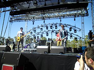 Deerhunter - Image: Deerhunter at Coachella