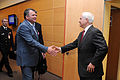 Defense.gov News Photo 110608-D-XH843-009 - Secretary of Defense Robert M. Gates meets with Russian Defense Minister Anatoliy Serdyukov during the NATO Defense Ministerial in Brussels.jpg