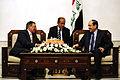 Defense.gov News Photo 110711-F-RG147-859 - Secretary of Defense Leon E. Panetta meets with Prime Minister of Iraq Nuri al-Maliki in Baghdad, Iraq, on July 11, 2011.jpg