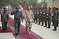 Defense.gov News Photo 110717-N-TT977-058 - Chairman of the Joint Chiefs of Staff Adm. Mike Mullen reviews Afghan National Policemen with Regional Commander North Afghan National Police Gen.jpg