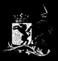 Del af ett alliansvapen med enhörning, Nordisk familjebok.png