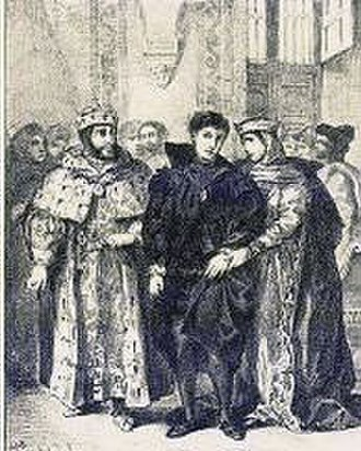 Critical approaches to Hamlet - Hamlet's statement in this scene that his dark clothing is merely an outward representation of his inward grief is an example of his strong rhetorical skill.