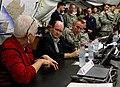 Delaware senator visits JFC-UA service members in Liberia 141220-A-YF937-928.jpg