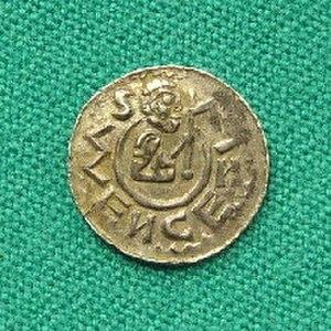 Vratislaus II of Bohemia - Denar of Vratislaus II.