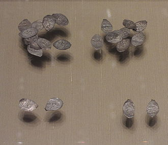 Denga - Pre-reform kopecks, dengas, and polushkas minted during the reign of Tsar Ivan III in the 15th century.