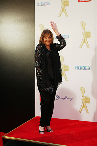 Denise Drysdale - Drysdale at the Logies, 2011