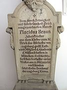 Placidus Braun -  Bild