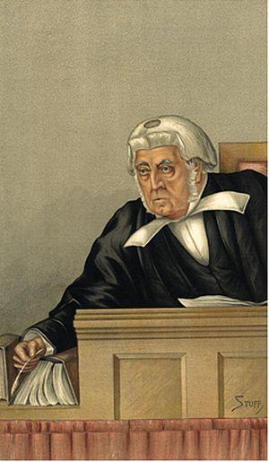 George Denman - George Denman - Vanity Fair caricature 1892