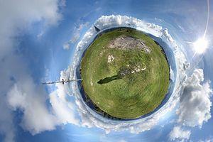 Dent de Vaulion - 360 degree panorama