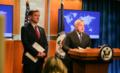 Deputy Secretary Sullivan and USAID Administrator Green Address the Press (40387160193).png