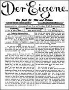 Der Eigene,publicación pionera del activismo gay.