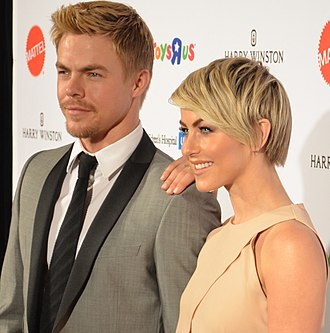 Derek Hough - Hough and his sister Julianne at the 2014 Kaleidoscope Ball