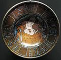 Deruta, piatto con cassandra bella, 1500-1530 ca..JPG