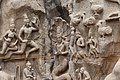 Descent of the Ganges, Pallava period, 7th century, Mahabalipuram (22) (23621074698).jpg