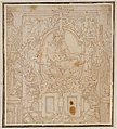Design for a Wall Decoration with a River God and Putti carrying the Symbols of King François I MET DT5013.jpg