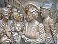 Detail from a bronze relief panel flanking the statue of the Queen Mother in the Mall - geograph.org.uk - 1229175.jpg