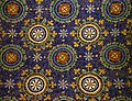 Detail of the mosaic on the entrance ceiling. Mausoleum of Galla Placidia. Ravenna, Italy.jpg