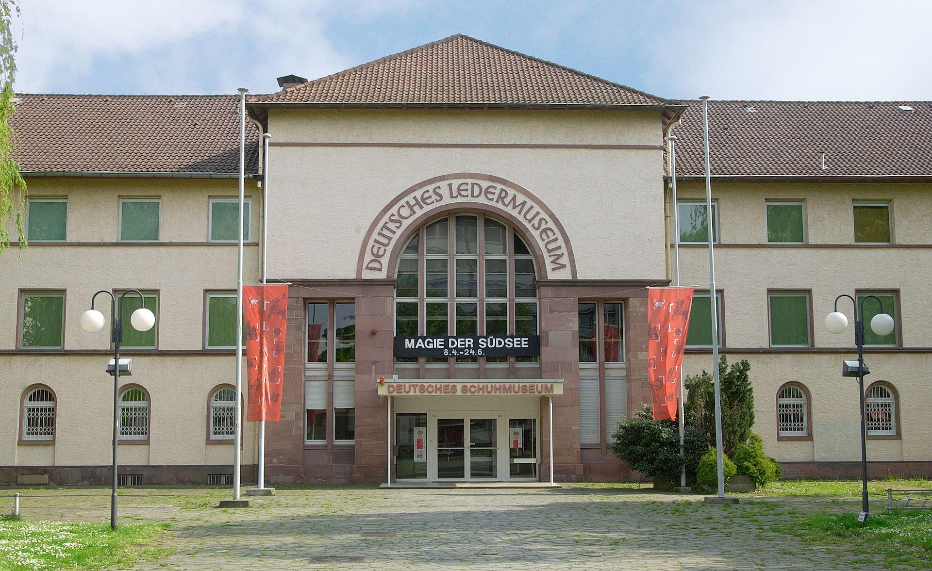 Deutsches ledermuseum wikipedia for Hochschule gestaltung offenbach