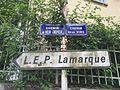 Deux plaques de rue à Caluire-et-Cuire (limite Rillieux).JPG