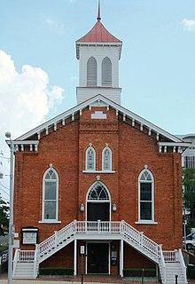 Dexter Avenue Baptist Church United States historic place