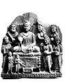 Dharmarajika Offerings to Buddha after enlightenment.jpg