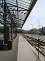 Diósgyőr villamos pályaudvar indulási peron 2011-05-14.JPG