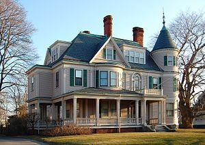 National Register of Historic Places listings in Lynn, Massachusetts - Image: Diamond District House