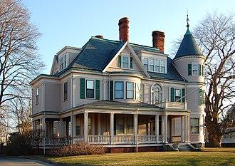 Diamond Historic District (Lynn, Massachusetts) - A large Victorian home in Lynn's Diamond District