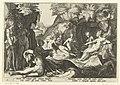 Diana ontdekt de zwangerschap van Callisto Ovidius' Metamorfosen (serietitel), RP-P-1882-A-6369.jpg