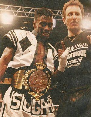 Pete Cunningham (kickboxer) - Retirement fight, Dida Diafat 2, 1996.