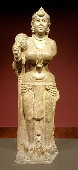 Didarganj Yakshi statue in the Bihar Museum.jpg