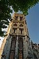 Dieppe - Place Saint-Jacques - View North & Up on Église Saint-Jacques.jpg
