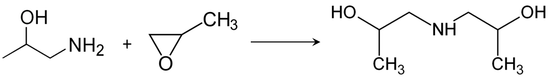 Synthese van di-isopropanolamine