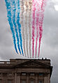 Display at Athletes parade, London 2012 (8049637104).jpg
