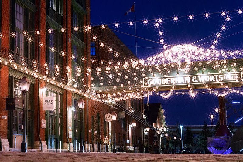 Lugares famosos no inverno de Toronto