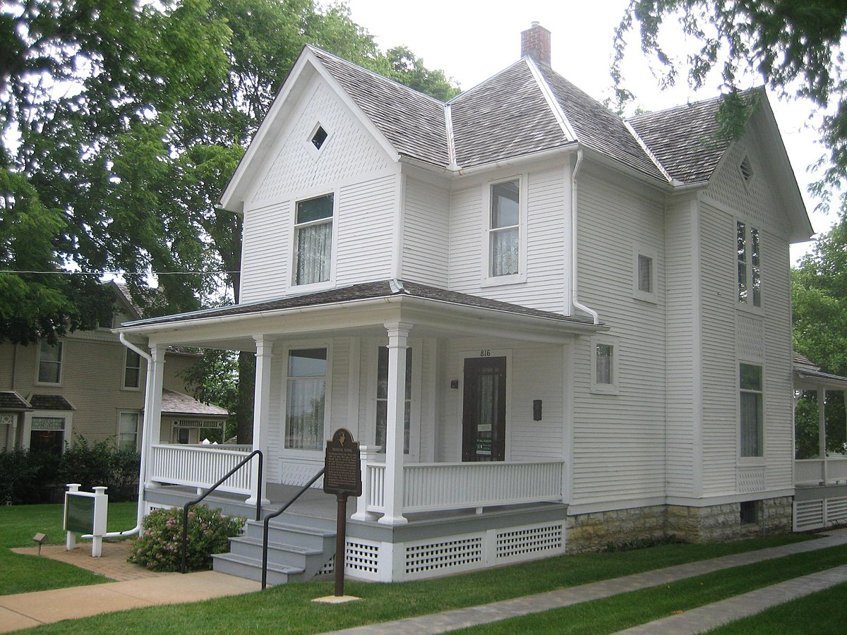 Ronald Reagan Boyhood Home Simple English Wikipedia The