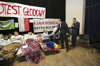 Hunger strike - A contemporary hunger strike in Poland