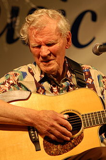 Doc Watson at MusicFest 'n Sugar Grove in Sugar Grove, North Carolina in 2009