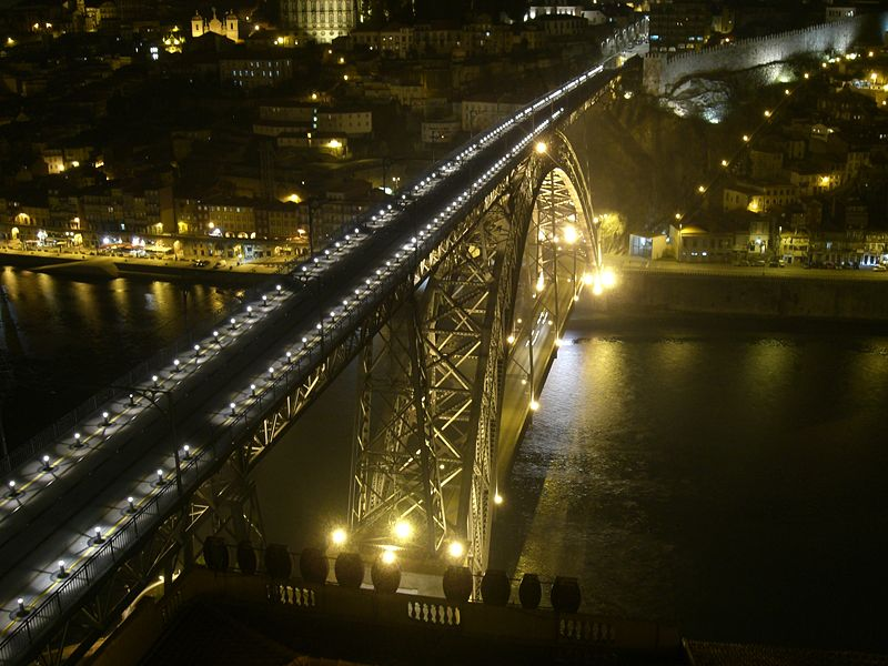 File:Dom Luis I bridge(night).jpg