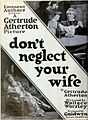 Don't Neglect Your Wife (1921) - Ad 1.jpg